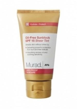 Murad Oil Free Sunblock Sheer Tint SPF15